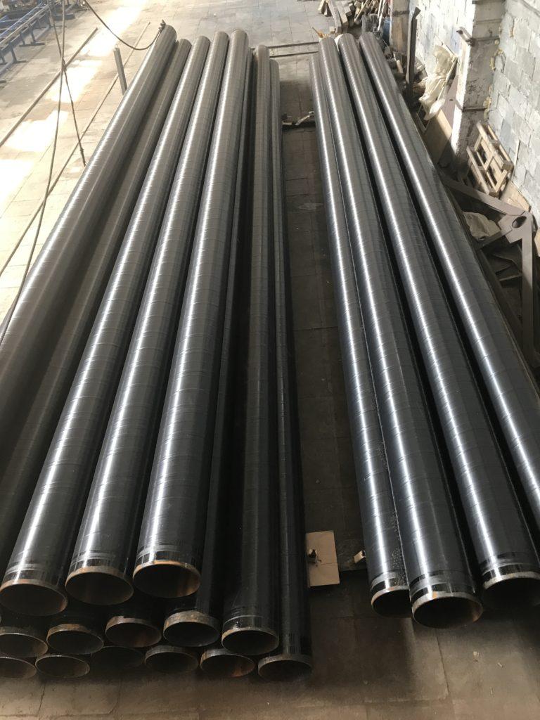 Трубы 325, 377 в ВУС изоляции по ГОСТ 9.602-2005 (таб:6; констр:4) лентами Полилен